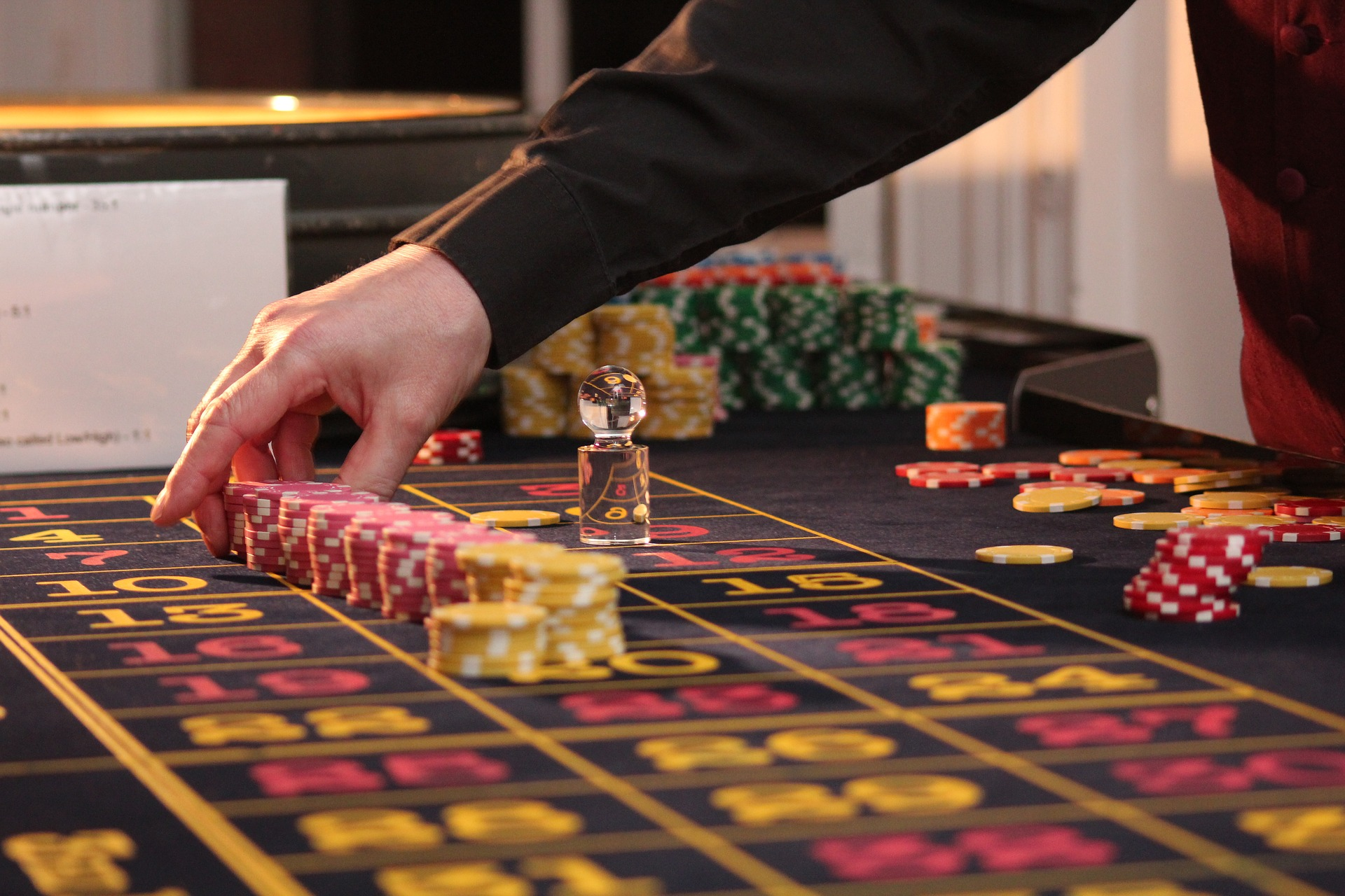 Online Roulette Game Table